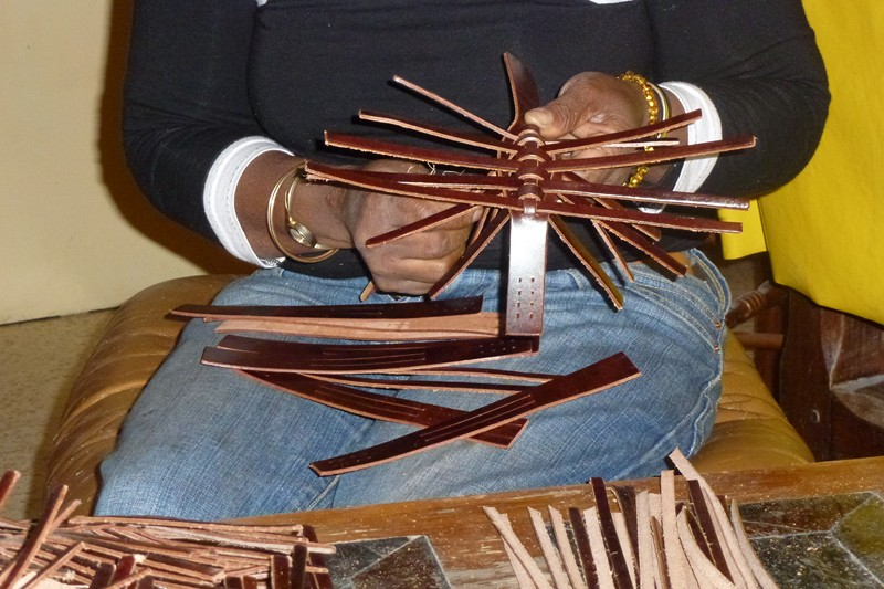 sandales artisanales Gard